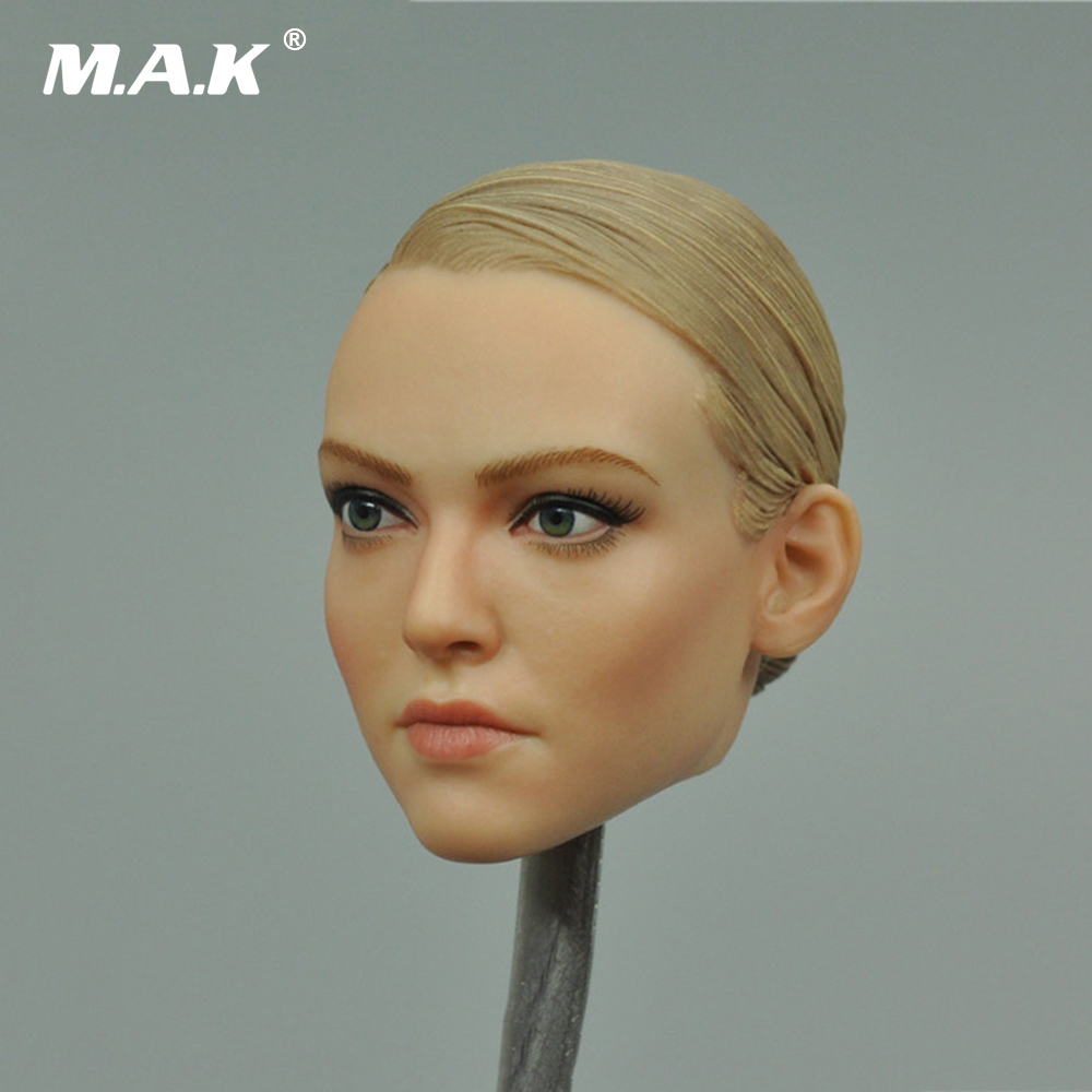 1/6 Scale The Darkzone Agent TRACY Female Head Sculpt VM-019 for 12 Inches Women Soldier Figure Accessories 1 6 scale figure head shape for 12 action figure doll rise of the planet of the apes caesar doll head for figure accessories