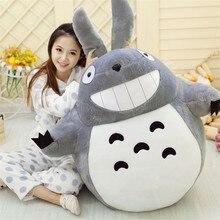 Movie TV Plush Toy My Neighbor TOTORO Doll Large Huge Big Stuffed Anime Kids Gift 60CM
