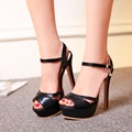 2017 Limited New Gladiator Sandals Women Sexy fashion Big Size 33-48 Lady Shoes Super High Heel Women Pumps shoes 431-5