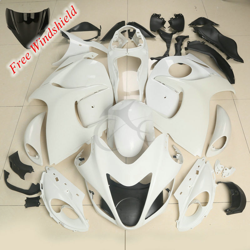 Motorcycle Unpainted Fairing Bodywork Kit For Suzuki Hayabusa GSXR1300 GSX1300R 08 17 15 16