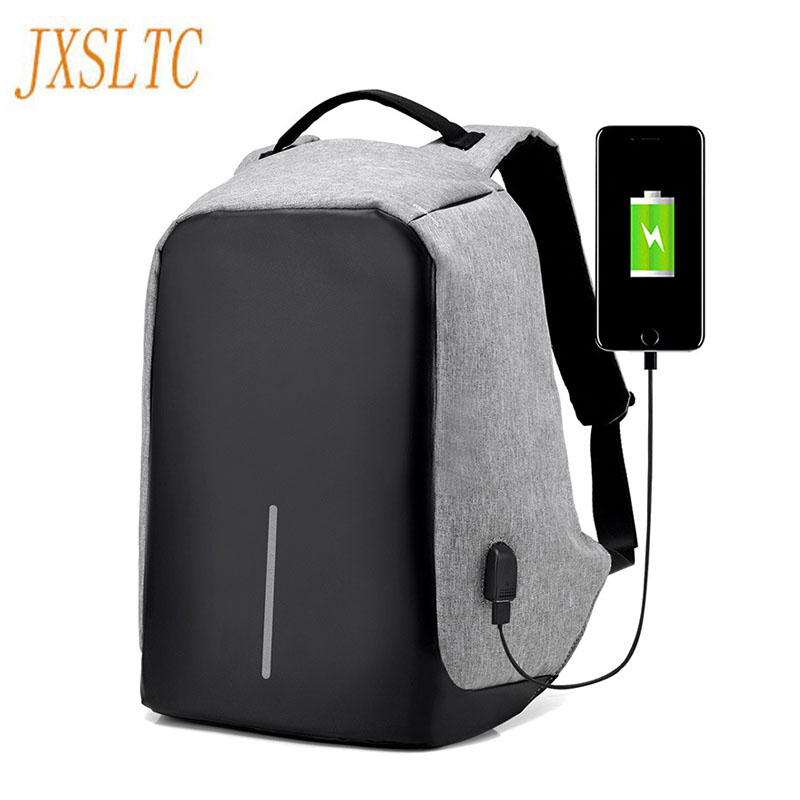 Multifunction USB charging Men Laptop Backpacks Fashion Teenager school Mochila Waterproof Leisure Travel backpack anti thief grizzly new laptop backpack men for teenager boys fashion large capacity mochila multifunction travel bags waterproof school bag