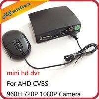 4CH mini HD CCTV Cameras Surveillance Video Recorder 1080N AHD DVR For AHD CVBS 960H 720P 1080P Camera Support mini TF Card