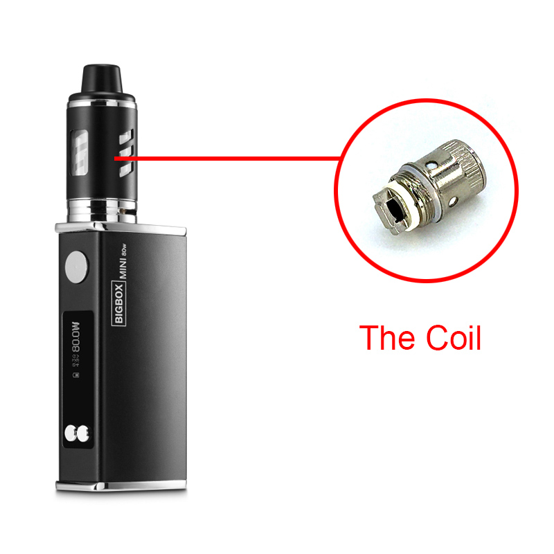LEXINTONG L80 <font><b>Vape</b></font> Coils Bigbox mini 80W Mod Box Coil Head Atomizer Core Clearomizer Vaporizer Vaper Smoking Replacement Wick image