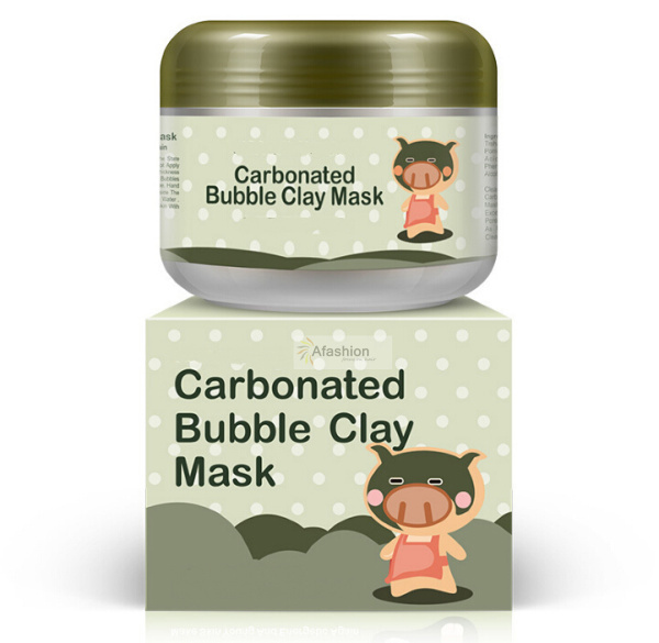1pc Oxygen Carbonate Bubbles mud facial mask face deep clean clear pores whitening hydrating foam