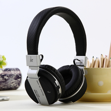 цена на bluetooth wireless headsets for game sports with portable microphone portable headphone TF card holder fm for ipod JKR Original