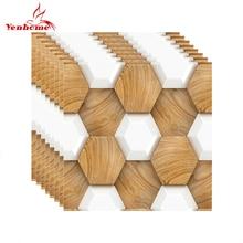 PVC Mosaik Fliesen Aufkleber Abnehmbare Selbst Adhesive Wallpaper Für  Wohnzimmer Bad Küche Back Wohnkultur 3D Wand