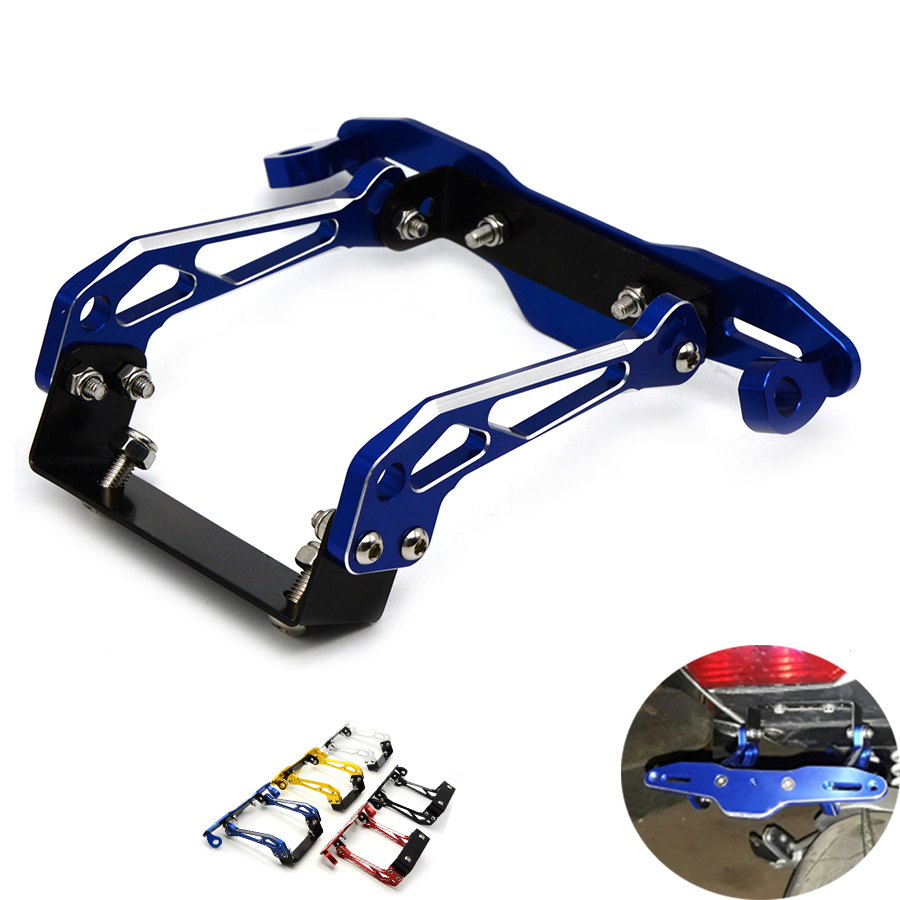 Fender Eliminator motorcycle License Plate Bracket Ho Tidy Tail Universal For Aprilia RSV4 RSV4 FACTORY F-11 V-4 S-58 CAPONORD E for suzuki gsx r600 k6 motorcycle fender eliminator license plate bracket tail tidy tag rear for suzuki gsxr750 k6 2006 2007