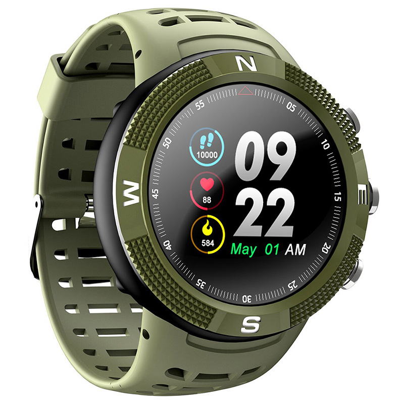 Full touch color screen smart bracelet Multi sports mode switching professional three anti smart watches GPS positioning Watches-in Smart Watches from Consumer Electronics    1