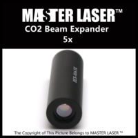 5X CO2 Laser Expander USA Imported ZnSe Material for CNC Laser Cutting Machine