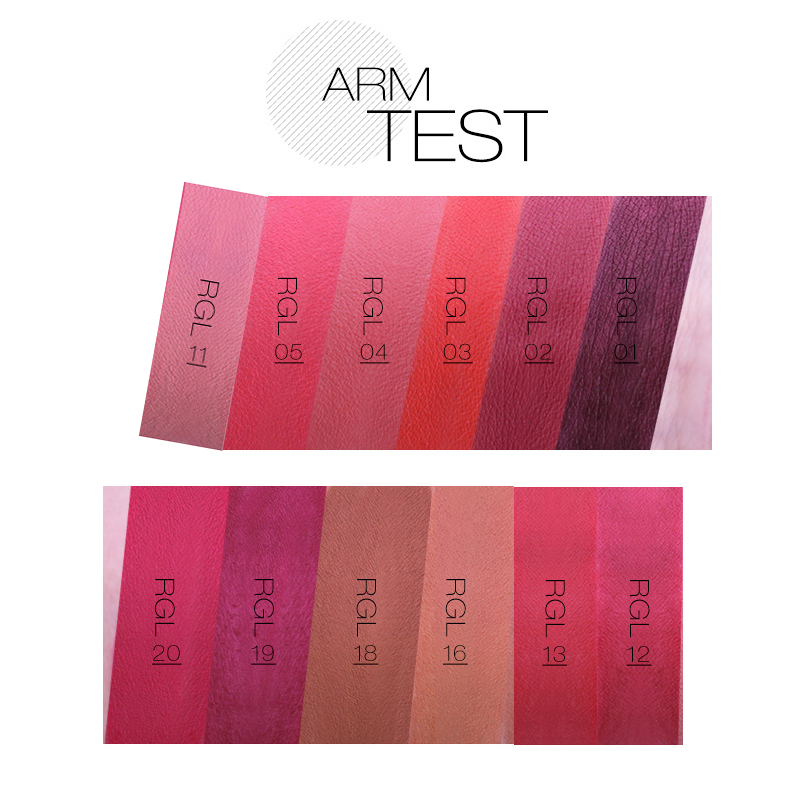 o.two.o New Matt Lip Stick Sammet Färg Koreanska Kosmetika - Smink - Foto 4