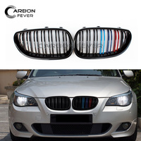 For BMW E60 E61 Front Bumper Kidney Grille Mesh 5 Series 2004 2009 Sedan Estate 520i 525i 528i