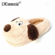 dog Warm House shoes Unisex women men slippers home shoes soft Funny Plush Emoji Slippers Indoor Shoes winter Cute Slippers burst dog cartoon indoor slippers women men winter thicken plush warm soft slipper cute unisex cotton house shoes cover heel