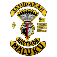 SATUDARAH MC Iron On Patch Motorcycle Biker Jacket Vest For Full Back Size Embroidered Rider Stick DIY Apparel Sewing Patches