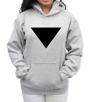 Sweat Capuche Triangle Inversé HipHop Streetwear
