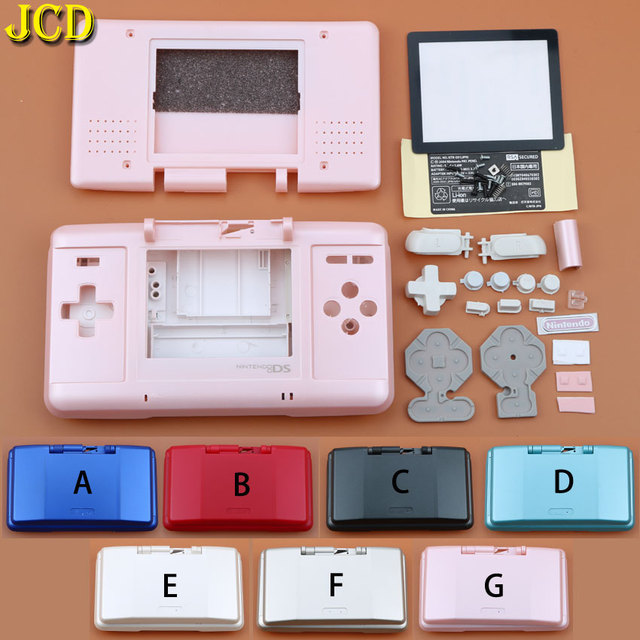 JCD 1PCS 7 Color Game Protect Cases Full Replacement Housing Case Cover Shell Kit For Nintend DS For NDS Console Game Case