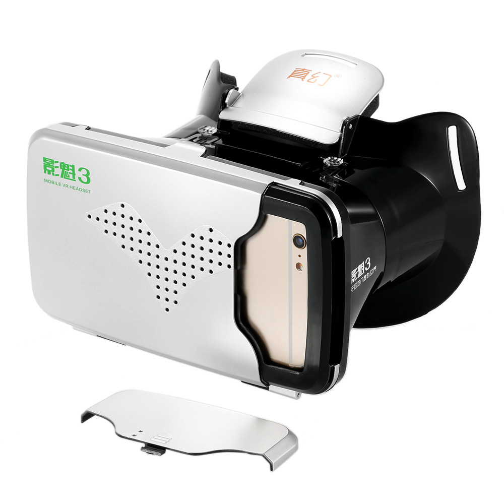 Riem III 3 VR Virtual Reality 3D VR Glasses Head Mounted mobile VR Headset Private Theater for 3.5 - 6 inches Smartphone smartphone