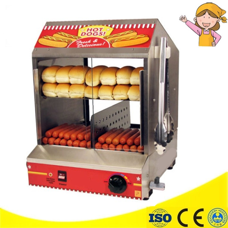 CE Appvide Commercial 220V Countertop Electric Hot Dog Steamer Warmer Display Showcase ce appvide commercial 220v countertop electric hot dog steamer warmer display showcase