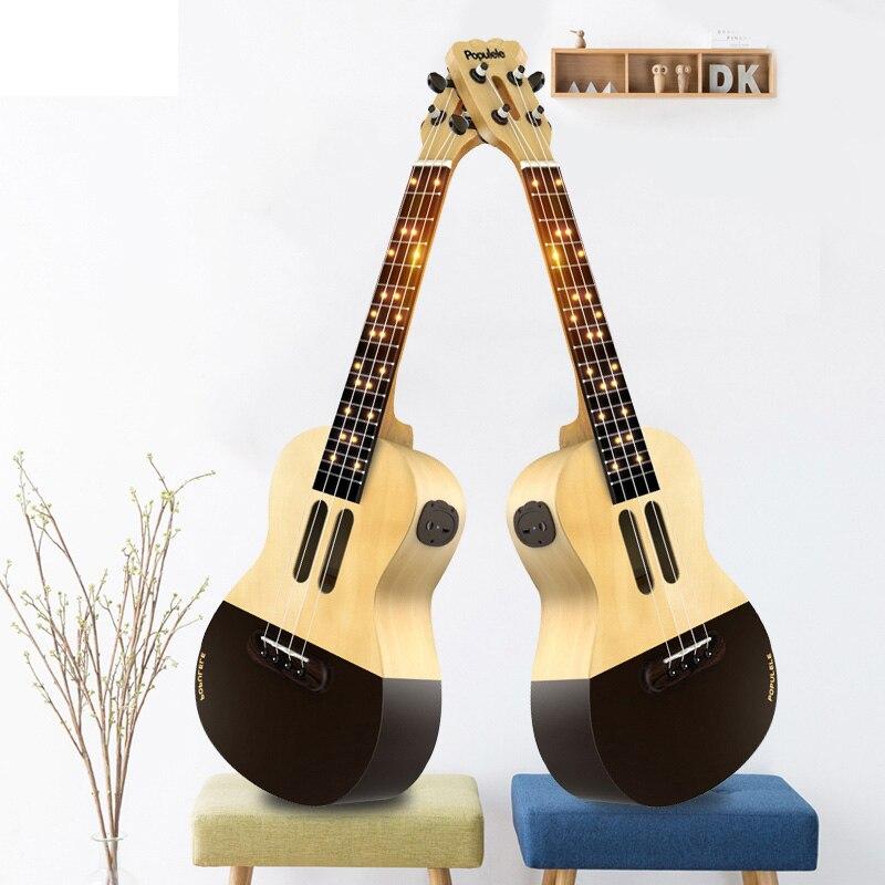 Populele U1 Smart ukulélé Concert Soprano 4 cordes 23 pouces guitare électrique acoustique de Xiaomi APP Phone Guitarra ukulélé - 4