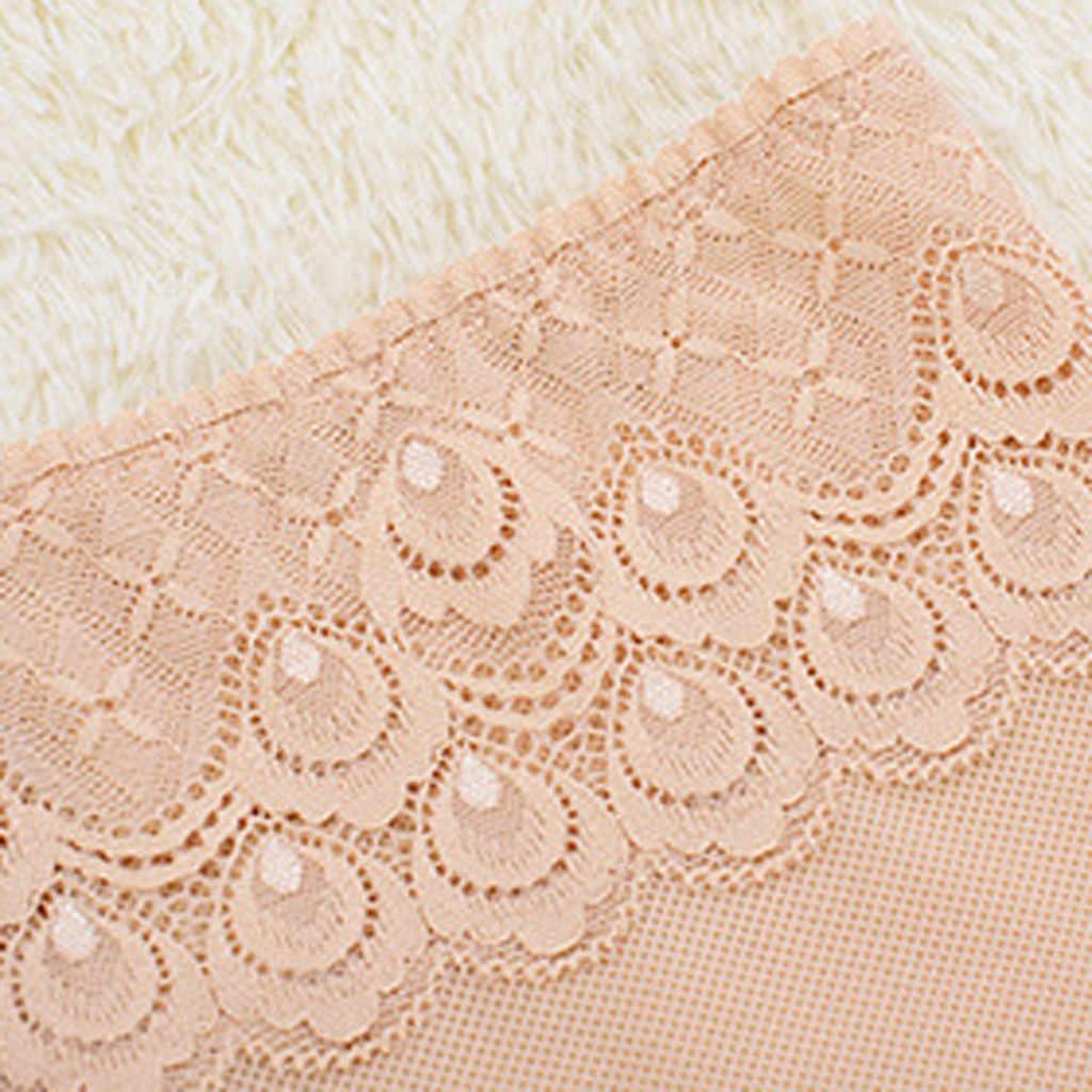 Kadın vücut seksi dantel pantolon dantel-up kalça iç çamaşırı orta bel nefes güvenlik pantolonu femme kısa feminino şort etek altında yeni