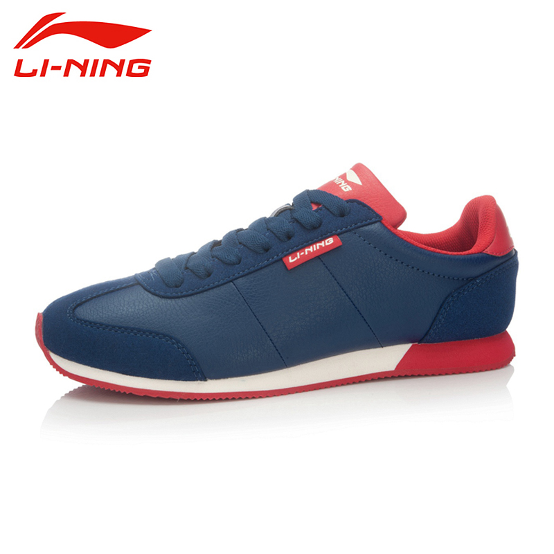 LI-NING Brand Outdoor Weightlifting Breathable Classical Jogging Sports Shoes Sneakers Walking Shoes Men Shoes ALCK103 XMR1155 original li ning men professional basketball shoes