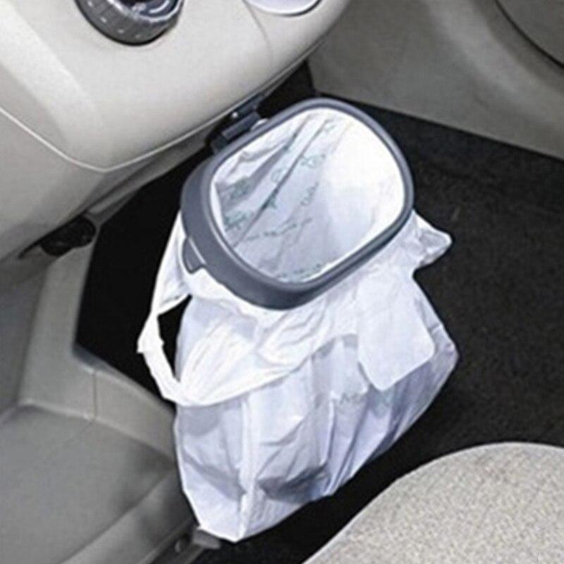 Auto Portable Garbage Bag Holder Trash Bags Rack Rubbish Bin Plastic Car Frame Easy Dust Base On Aliexpress Alibaba Group