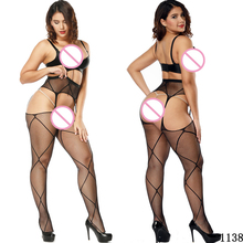 24 Patterns Women Sexy Lingerie Pantyhose Elastic Stockings Stripe Transparent Black Fishnet Thigh Sheer Tights Lace Cosplay openwork elastic sheer tights
