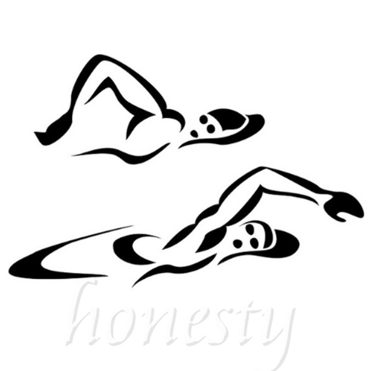 Clipart Swimmer