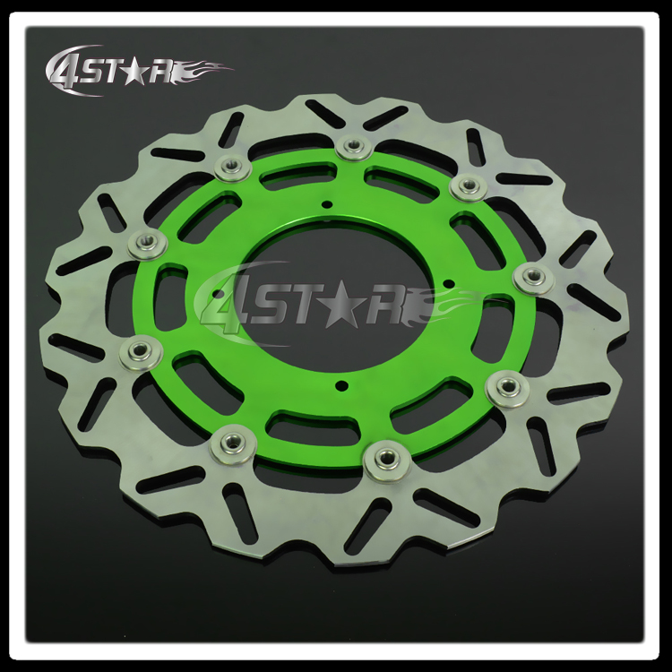 320MM Floating Disc Front Brake Discs Brake Rotor For KX KXF KLX KX125 KX250 KX250F KX450F KLX450 Supermoto Motard Motocross