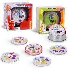 Настольная игра, Новые карточки с пятнами для родителей и детей, игровая карта для детей, ориентированная на обучение, Семейные игрушки, высокое качество, бумажная игра