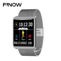 2018 NEWS FINOW N98 Color Smart Watch Waterproof Smart bracelet Blood Pressure Heart Rate Smart Wristband Fitness Tracker Smart