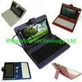 """7 """"Digma ХИТ 7.0 3 Г HT7070MG Мегафон Login2 MT3A Tablet Stand Кожаный Чехол USB клавиатура + Стилус + OTG бесплатная Доставка"""