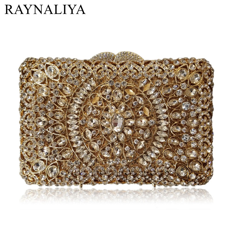 Golden Women Box Shape Diamante Banquet Bags Purse Silver Luxury Diamond Crystal Evening Bag Ladies Diamonds Clutch Smyzh-f0100 ladies wedding dress bridal crystal clutch bag women diamond dinner banquet evening purse silver metal clutches smyzh f0300