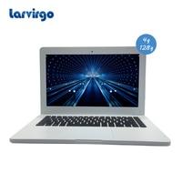Windows 10 System 13 3 Inch Black White 4G Ram 128G SSD Expandable Hard Drive Laptop