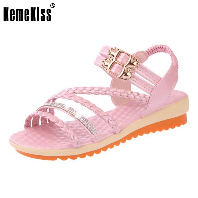 Ladies Cross Strap Gladiator Buckle Flats Sandals Sexy High Quality Casual Flat Shoes Women Fashion Footwear Size 35-39 PA00219 new women casual platform wedges sandals fashion cross strap gladiator sandals for women sexy high heels ladies summer shoes