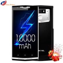 "(24 Heures Gratuite) K10000 PRO 4G LTE 10000 mAh 12 V/2A Charge Rapide 5.5 ""FHD 3 GB + 32 GB 13MP D'empreintes Digitales ID GLONASS Smartphone"