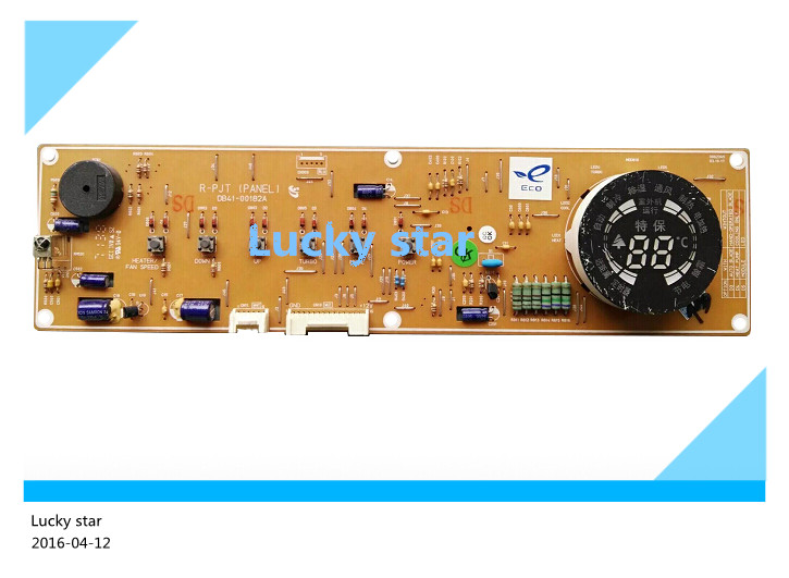 95% new for Air conditioning Computer board motherboard panel key board DB41-00182A DB93-02322F new 3u ultra short computer case 380mm large panel big power supply ultra short 3u computer case server computer case