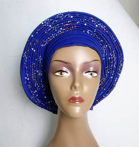 Auto gele aso oke headtie for aso ebi ready to