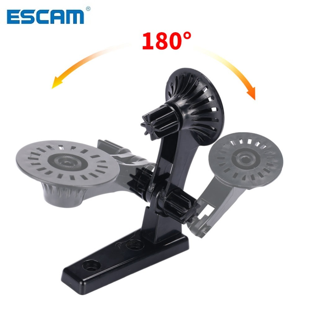 ESCAM 180 degree Camera Wall Mount stand cam module mount bracket baby monitor camera mount CCTV accessories-in CCTV Accessories from Security & Protection