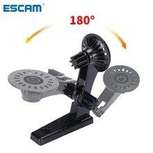 Escam 180 graus câmera suporte de montagem na parede cam módulo suporte montagem do bebê monitor câmera montagem cctv acessórios