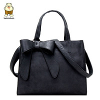 Magic Fish Women Handbag Designer Bow Tote Women Messenger Bags Cross Body Women S Bolsa 2016