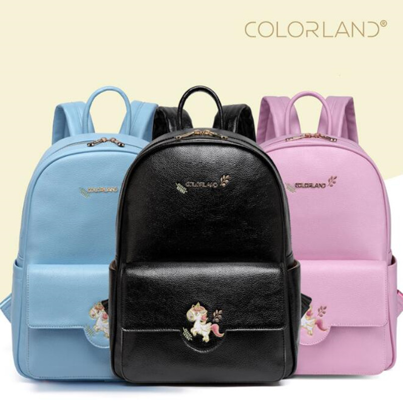 Fashion PU Leather Mummy Bag Large Capacity Diaper Bags Multifuctional Waterproof Girl Mom Backpack For Mother