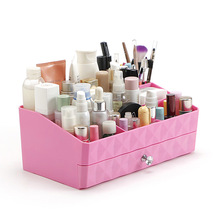Cosmetic Organizer Makeup Case Suitcase