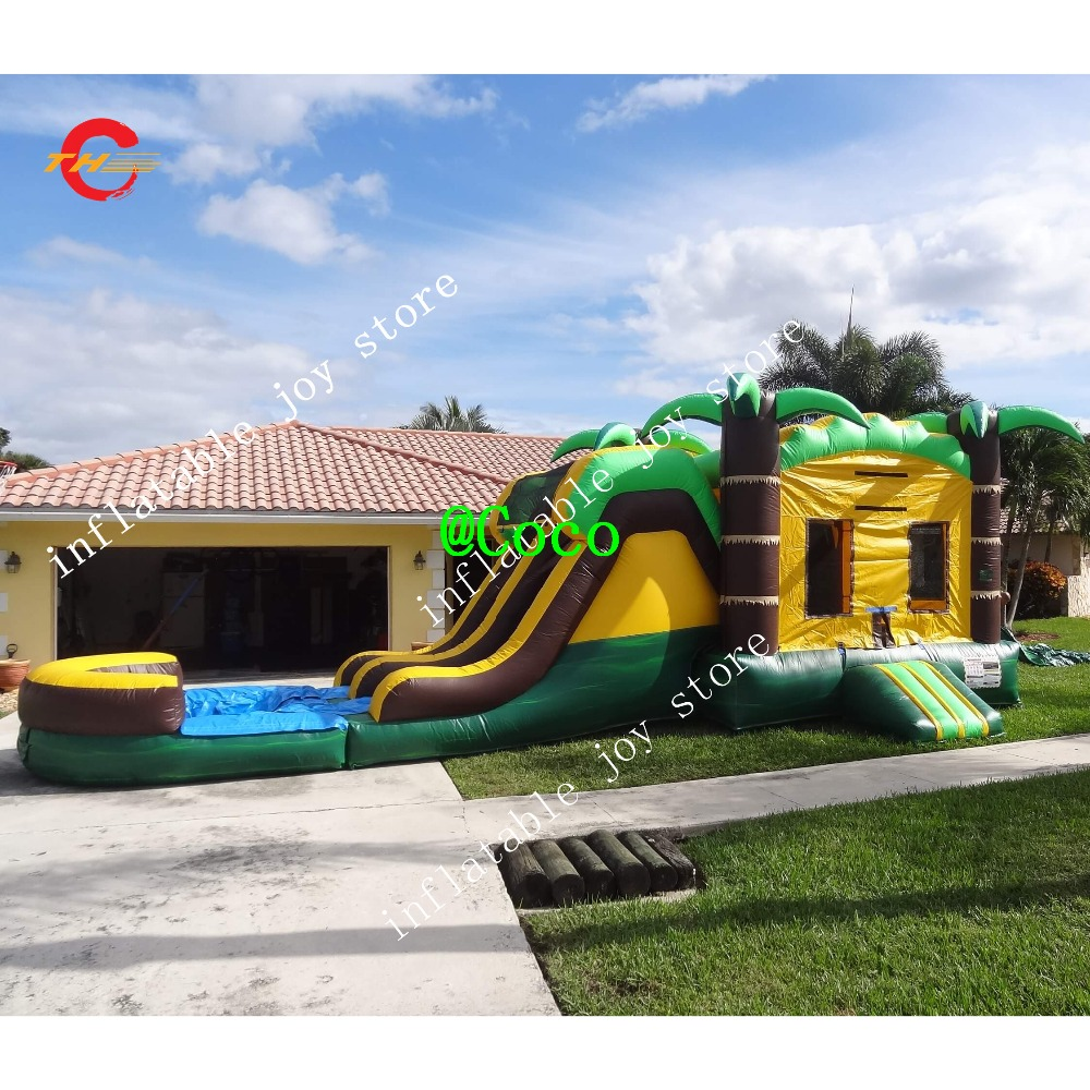 Inflatable Water Slide Port Macquarie: Free Ship To Sea Port, Commercial Inflatable Fun City