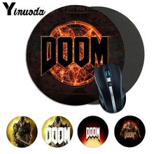 Yinuoda Doom HZ Stalker Game Soft Rubber Professional Gaming Mouse Pad laptope C