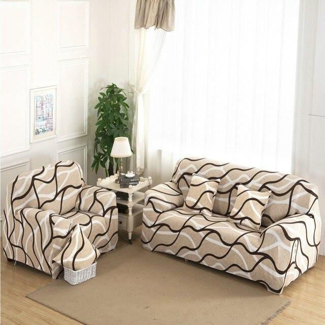 1 2 3 Seat Plush Flexible Stretch Sofa Cover Big Elasticity Couch