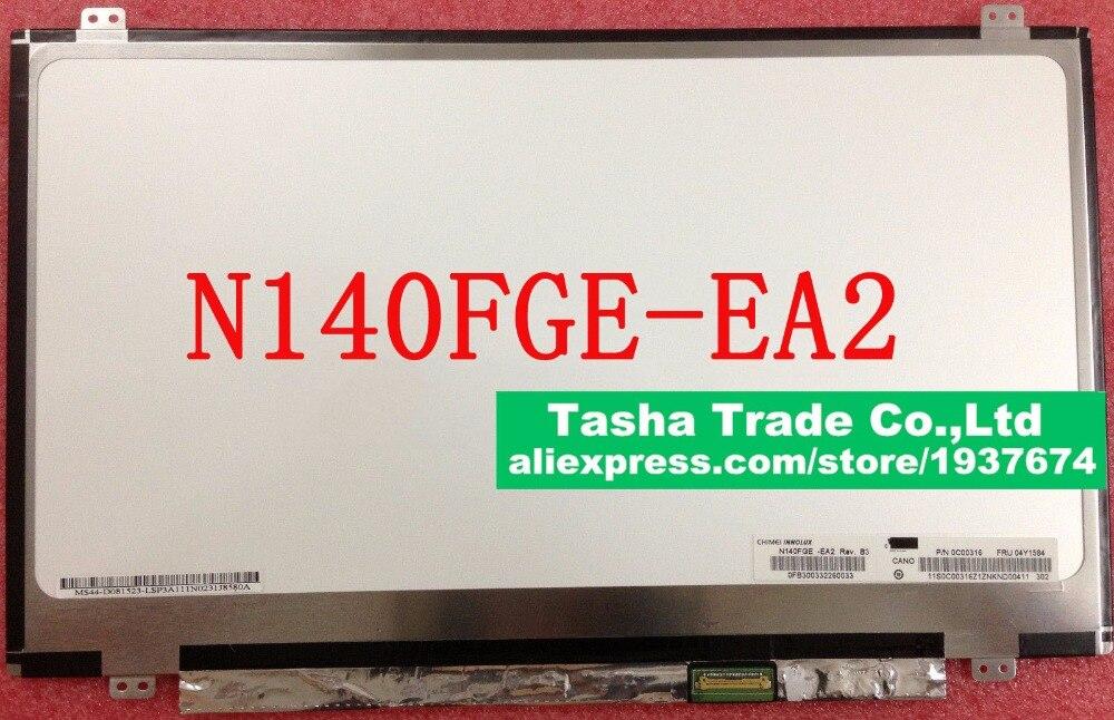 купить For Lenovo U430 N140FGE-EA2 N140FGE EA2 LED Screen LCD Display Matirx 1600*900 HD+ Matte Original недорого