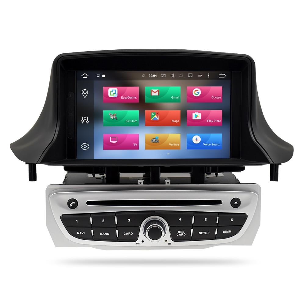 Android 8.0 Autoradio Lecteur DVD GPS Glonass Navigation pour Renault Megane 3 Fluence 4 gb 32g Vidéo Multimédia radio