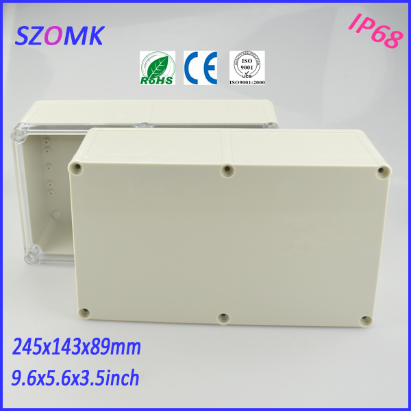standard abs enclosure plastic box (1 pcs)245*143*89mm electronic project box electronic case distribution box plastic box itap 143 2 редуктор давления
