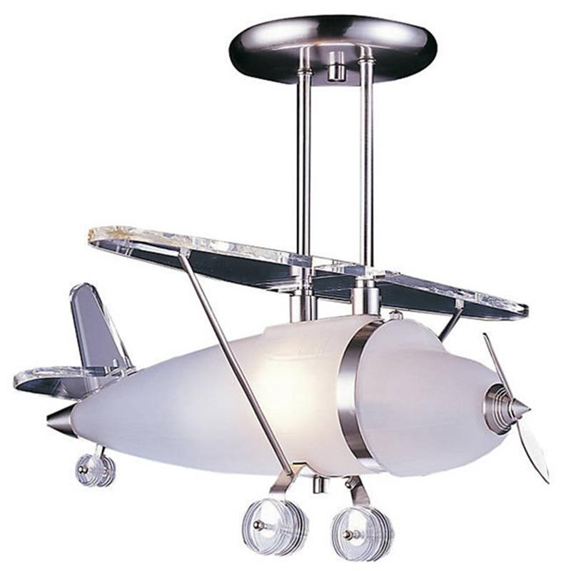 Prop Plane Pendant Elk Lighting White Gl Lights For Kids Bedroom Living Room Light Fixtures Res Droplight Cl107