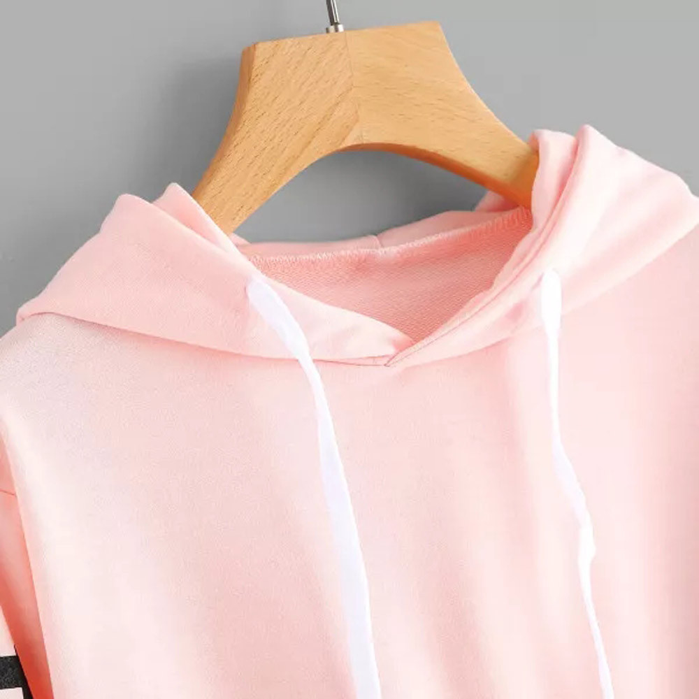KANCOOLD Top Sweatshirts Women Letters Long Sleeve Hoodie Sweatshirt Pullover Tops Causal high quality sweatshirt women 18DEC6 10